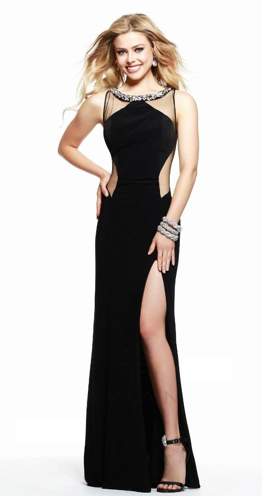 Black-prom-dress