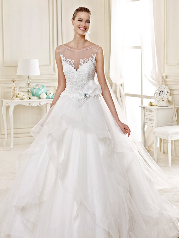 Chapel-Train-Chiffon-white-brides-wedding-Dresses-2015
