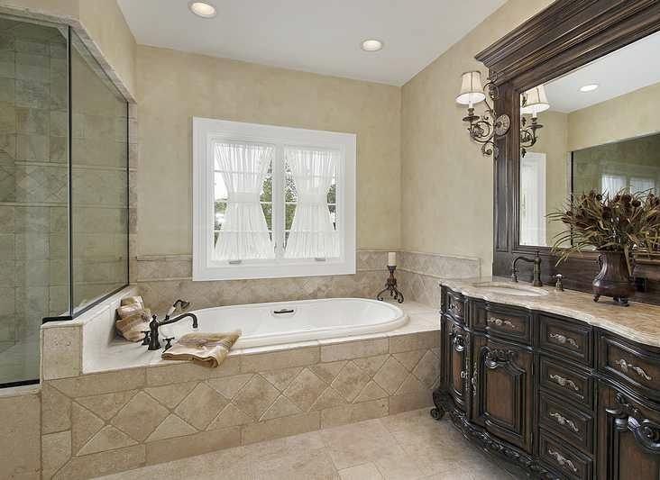 25 master bathroom decorating inspiration for Classic master bathrooms