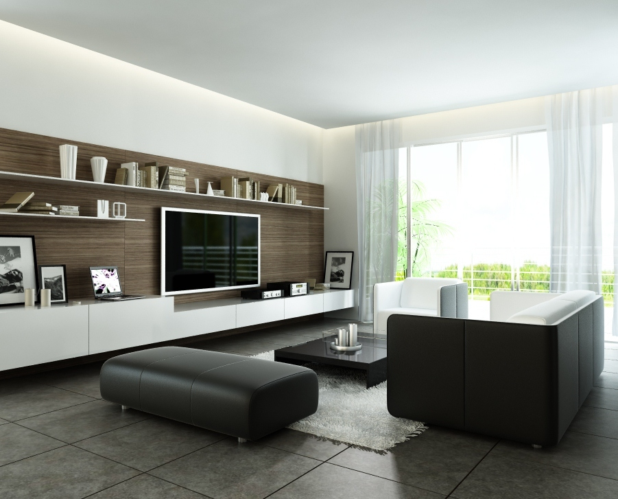 Contemporary-Living-Room-with-Minimalist-Styles