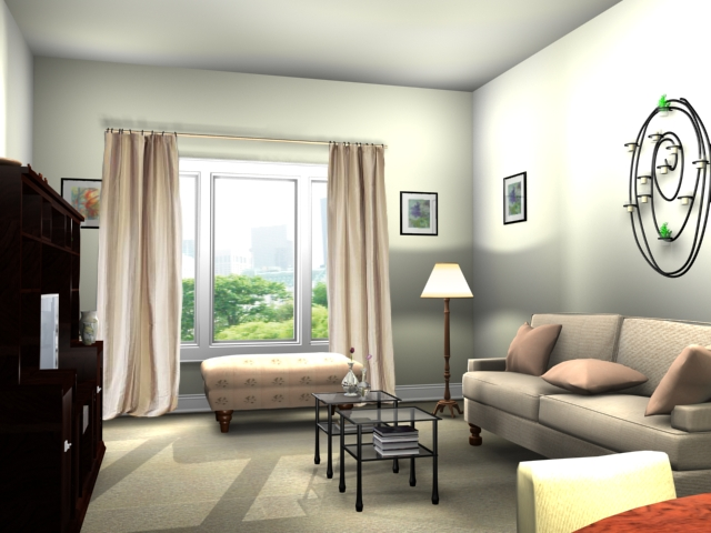 Decor-of-the-living-room