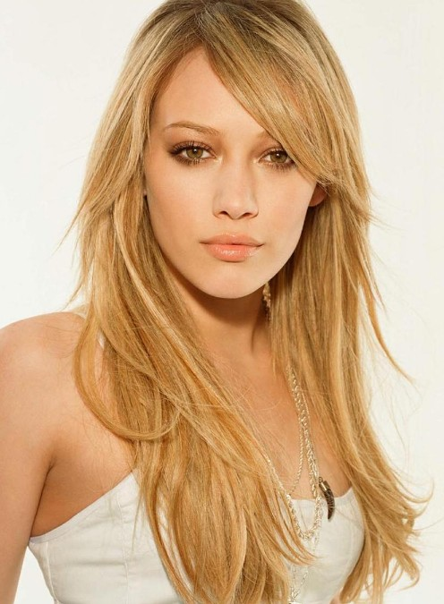 Hilary-Duff-Cute-Long-Layered-Hairstyles