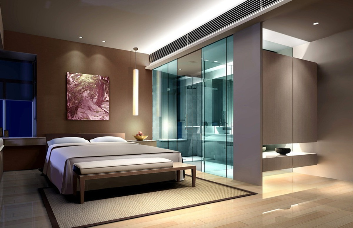 15 creative master bedroom ideas for Creative bedroom designs