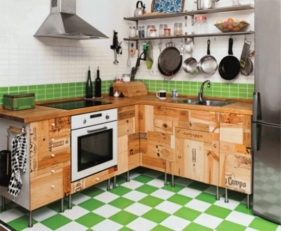 Kitchen-Cabinets-Made-of-Recycled-Wood-Wine-Crates