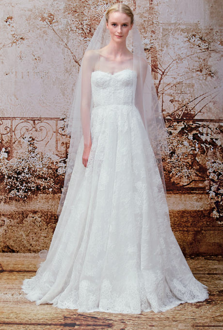 Lace Wedding Dresses from the Bridal Runways