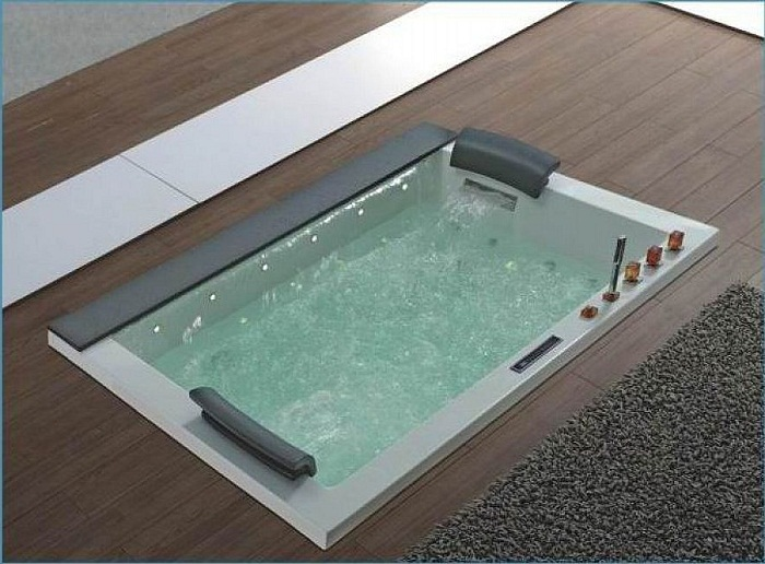 Modern-Design-Square-Jacuzzi-Tub