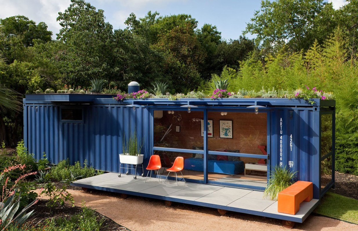 More shipping container houses