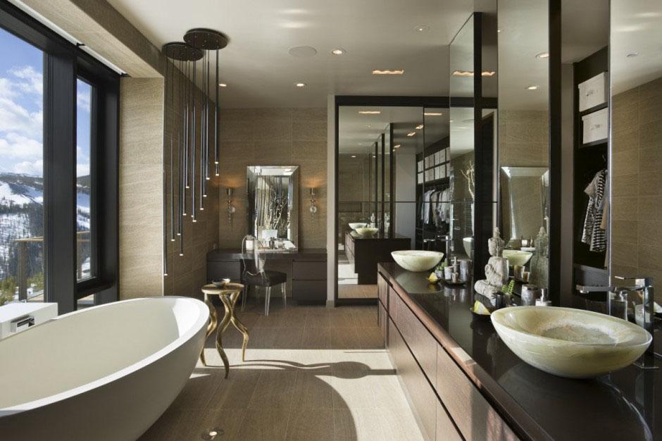 25 Modern Luxury Bathroom Designs