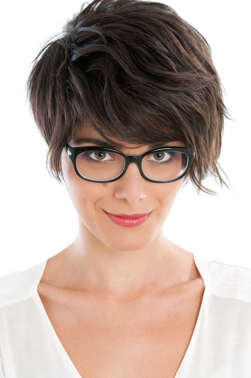 Woman-with-short-hair-Short-Hair-Chic-and-Easy