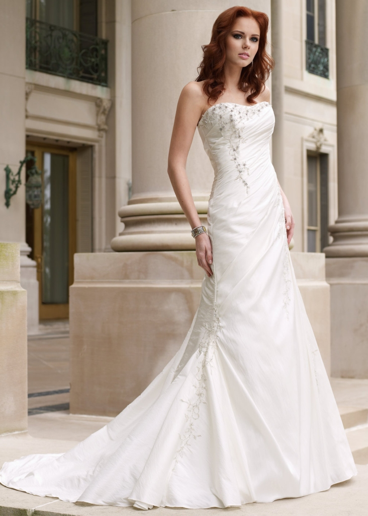 beautiful-bridal-gowns-american-wedding-dress-2015