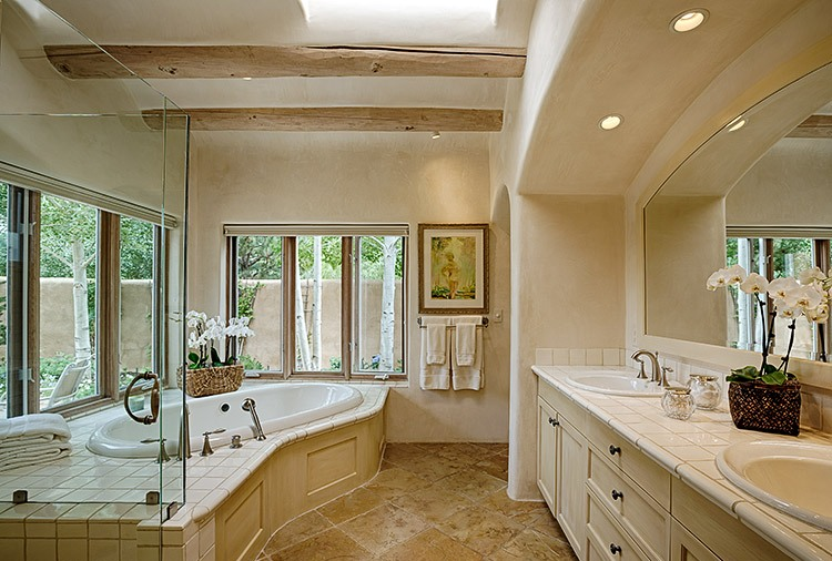 25 master bathroom decorating inspiration for Bathroom designs without tub