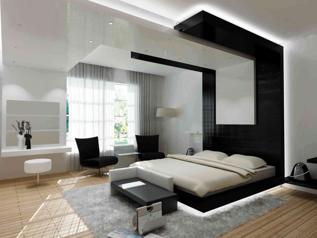 Contemporary Bedroom With Modern Touch