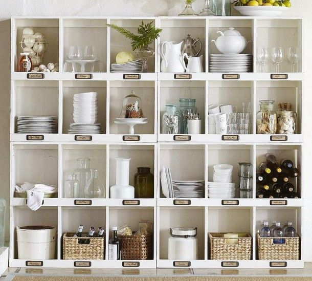 Cool Kitchen Storage Idea