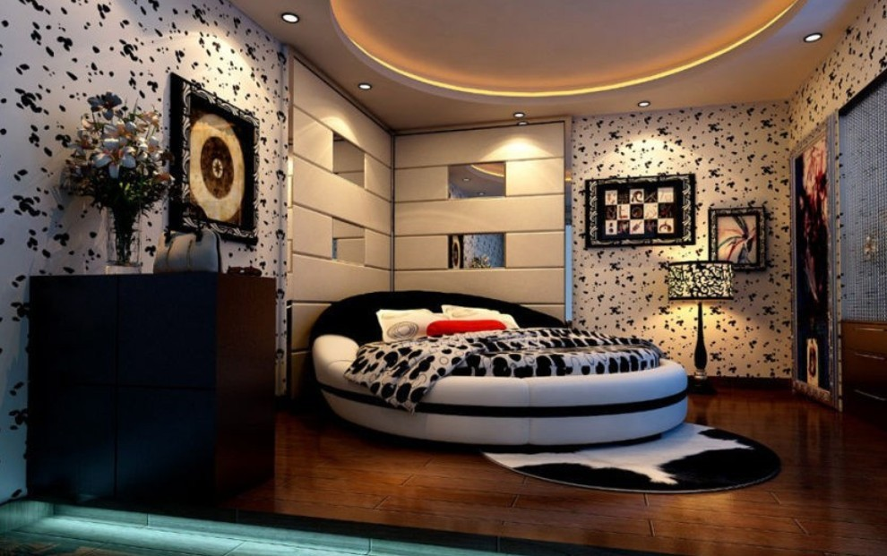 creative-master-bedroom-ceiling-ideas-with-modern-hardwood-flooring-decoration