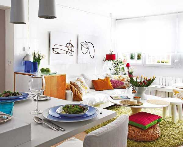 decorating-small-spaces-apartments-white-paint
