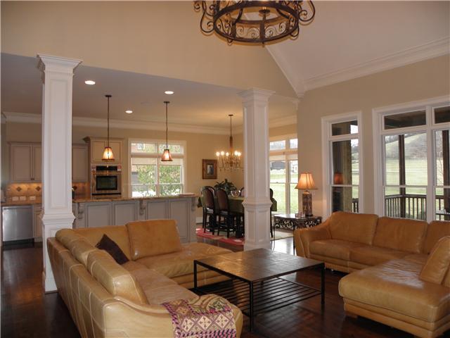 Contemporary Living Room Ideas Farm Open Floorplan