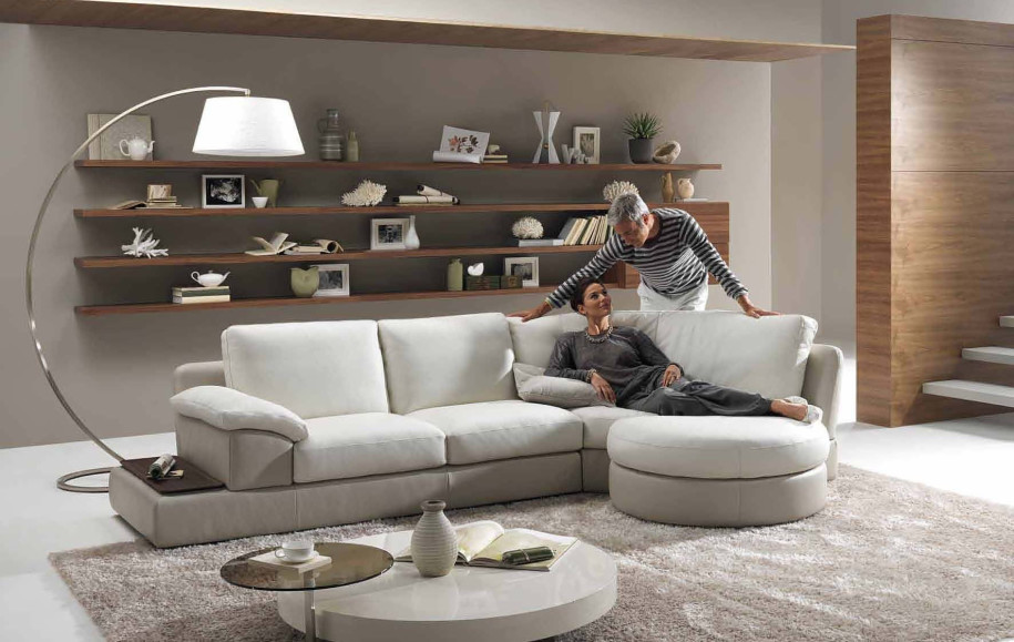 Modern Furniture Living Room - The Interior Designs