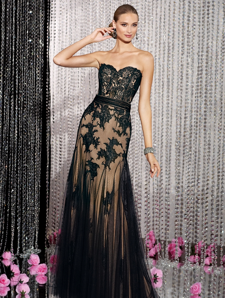 hot evening gown