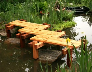 25 Stunning Garden Bridge Design Ideas