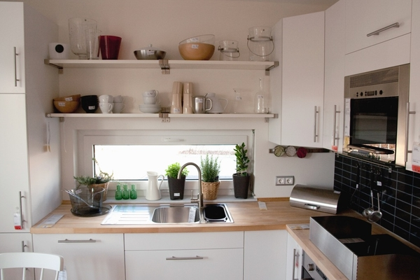 20 unique small kitchen design ideas for Tiny kitchen ideas