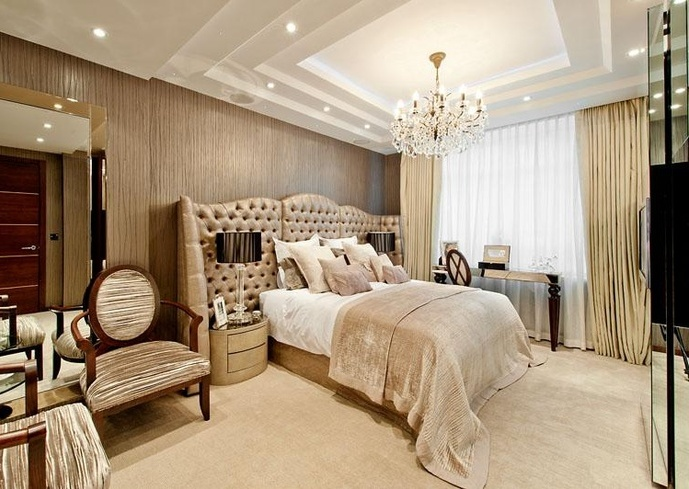 Luxury Master Bedroom Suite Design