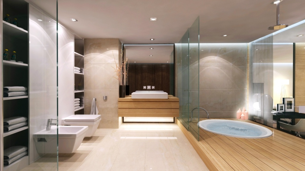 bathroom design modern inspiring house | 25 Master Bathroom Decorating Inspiration