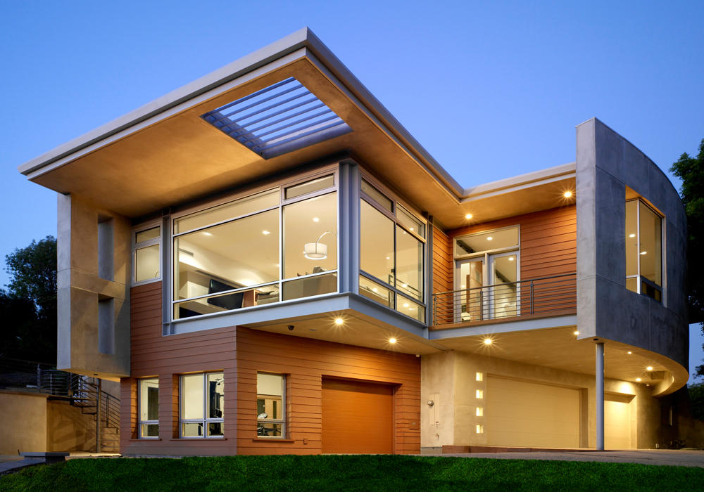 Modern Home Exteriors Magnificent Decoration
