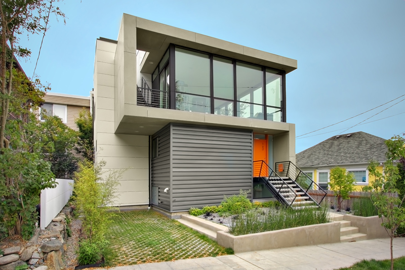 Modern Home On Homes
