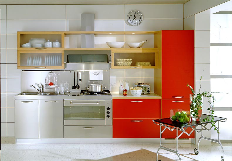 Modern Small Kitchen As Kitchen Remodel Idea With