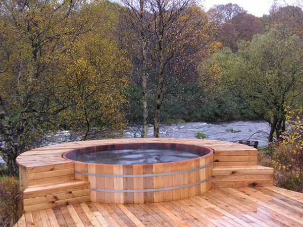 Perfect Awesome Outdoor Hot Tub Ideas