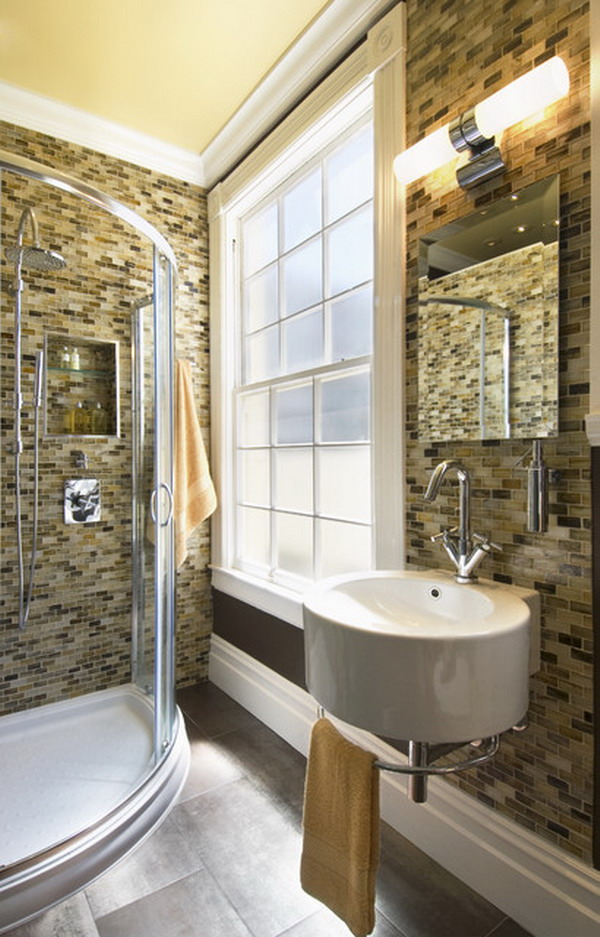 25 modern luxury bathroom designs for Amazing small bathrooms