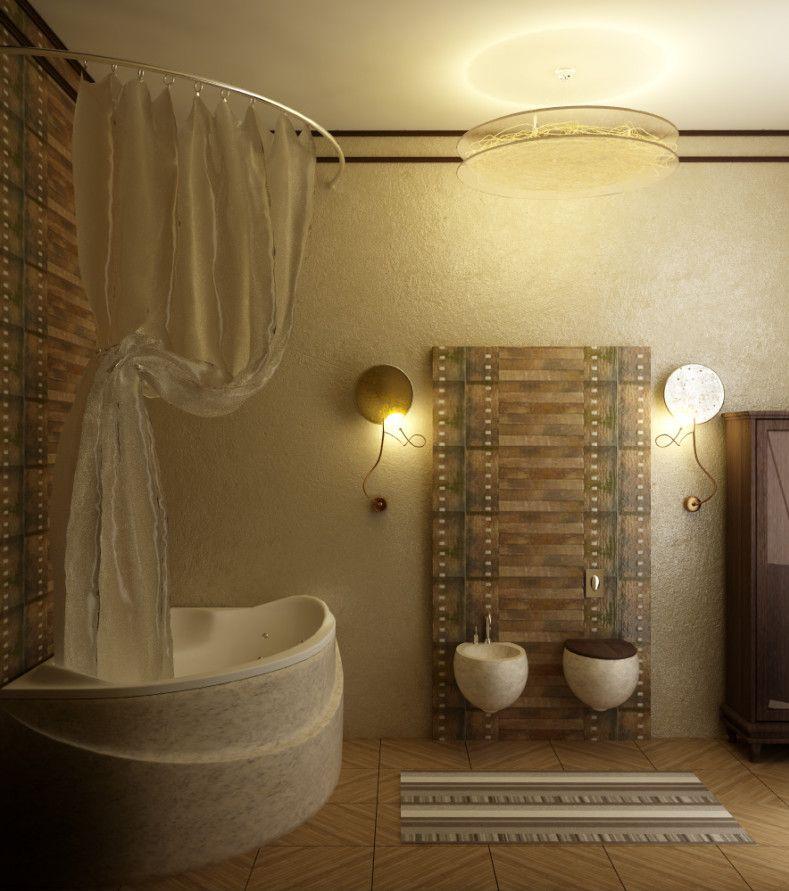 2015-extraordinary-brown-bathroom-with-bathroom-accessories-ideas