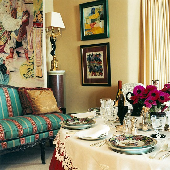30 Incredible Eclectic Dining Designs