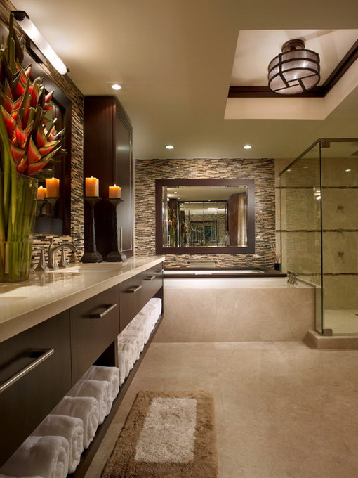 Asian-Bathroom-in-Soft-Brown-Scheme