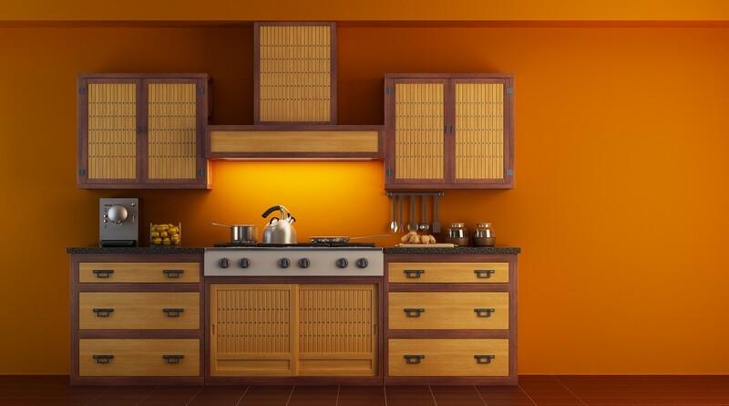 Asian Kitchen Design