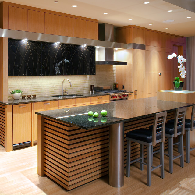 Asian Kitchen Layout