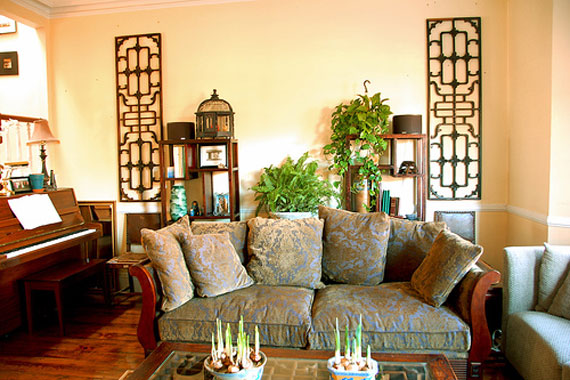 Exceptional Asian Style Living Room Interior