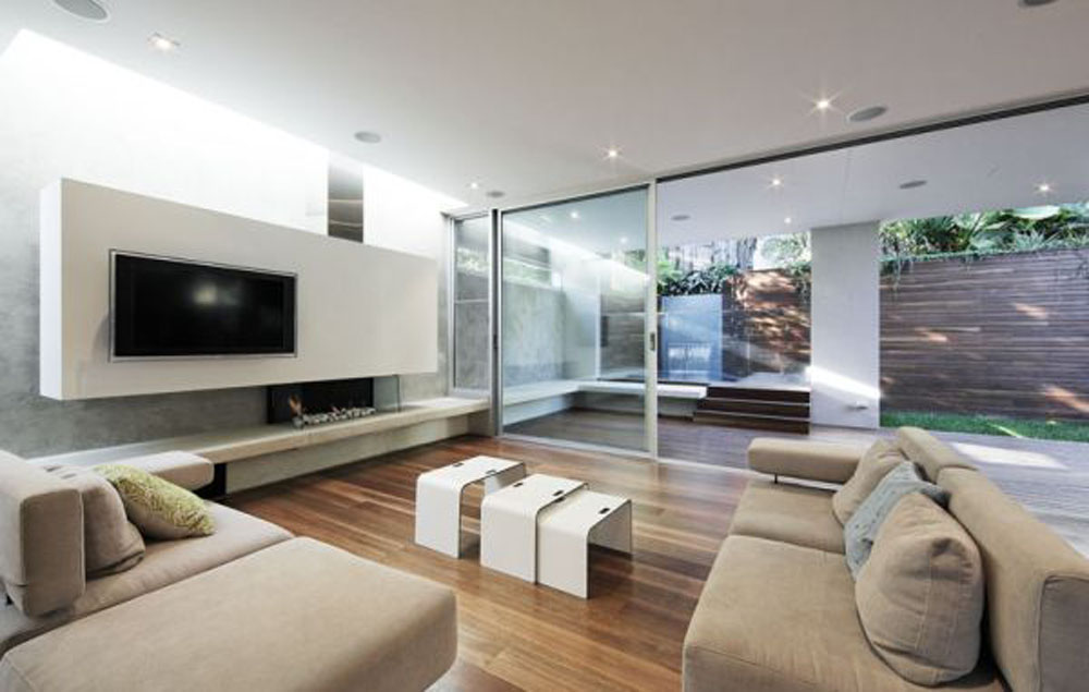 Awesome Contemporary Living Room Set