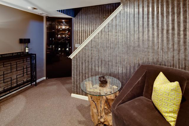 Basement Remodel eclectic-basement