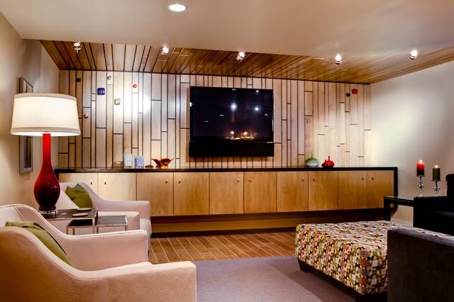 Basque Basement modern-basement