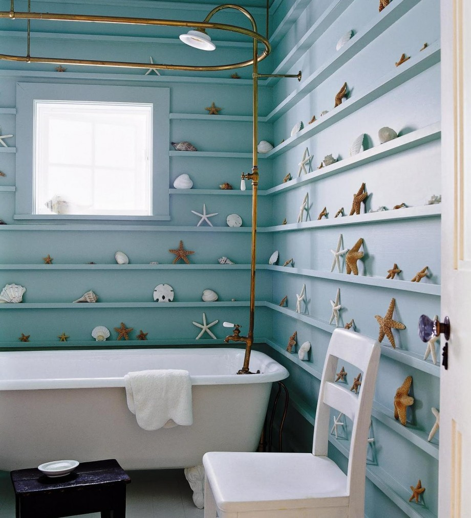 Beach Themed Bathroom Decoration Ideas