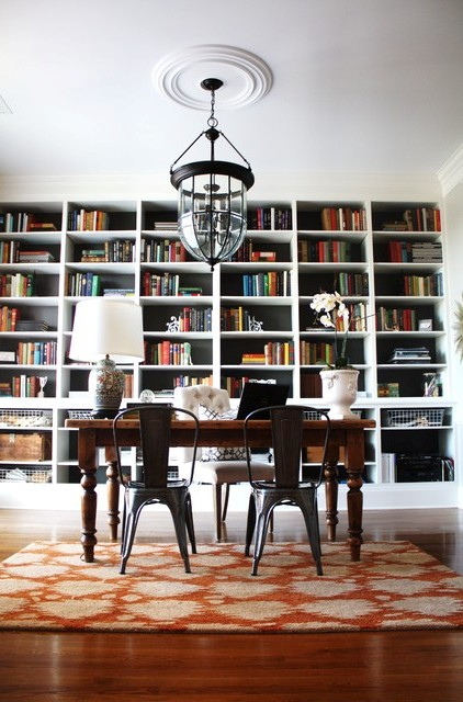 Beautiful-Eclectic-Home-Office-Designs