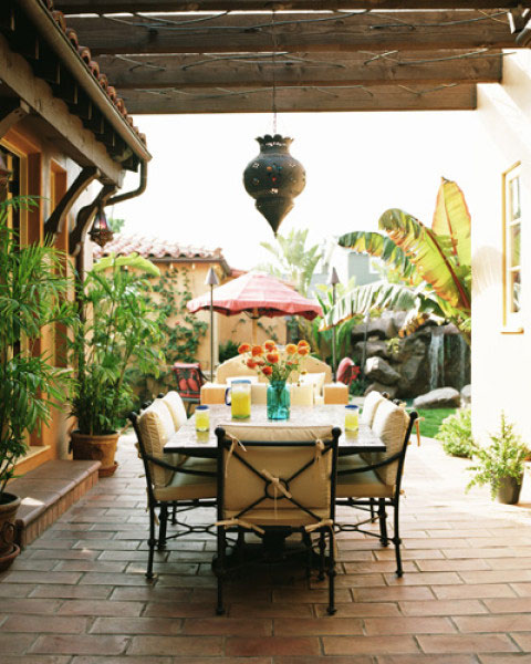 Outdoor Moroccan Decor Design Ideas: 25 Cool Outdoor Dining Room Design Ideas