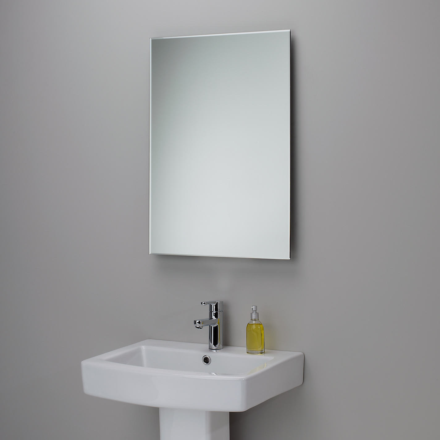 Bevelled Edge Bathroom Mirror