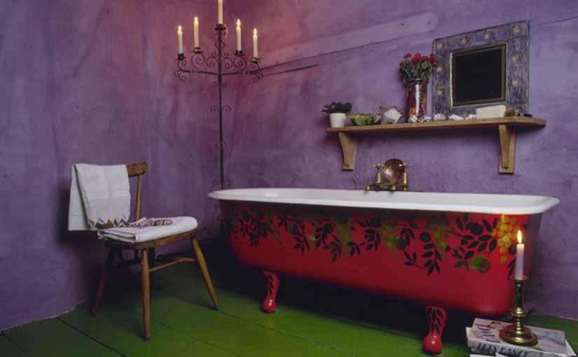 Bohemian-Eclectic-Bathroom