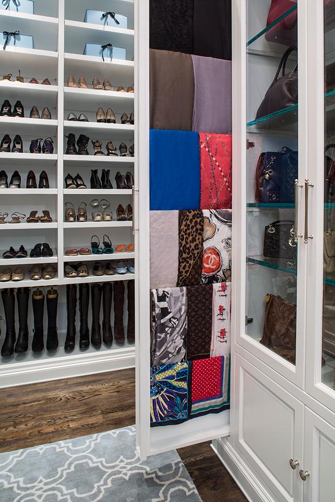 Bright Shoe Cubbies Technique Los Angeles Traditional Closet
