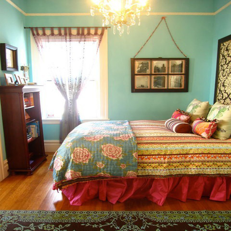 colorful bedroom curtains top 20 colorful bedroom design ideas 11165