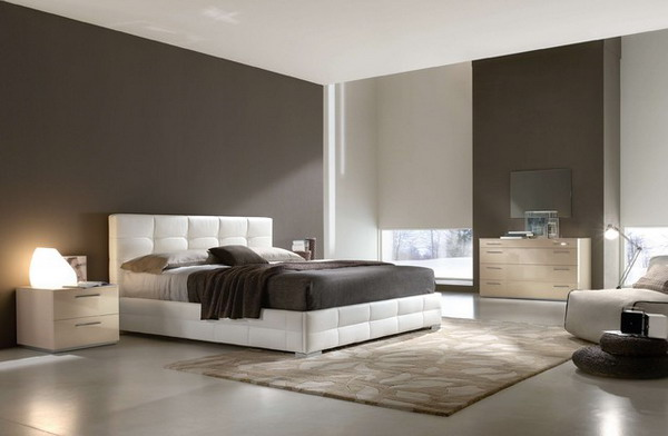 Contemporary-Bedroom-Design-with-White-Stylish-Bed