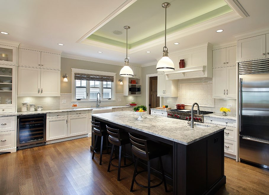 Contemporary-Craftsman-kitchen