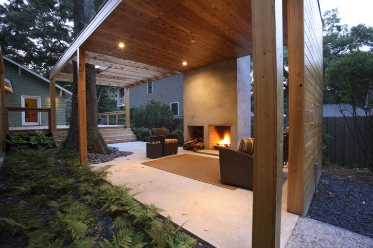 Contemporary-outdoor-living-space-Come-sit-by-the-fire
